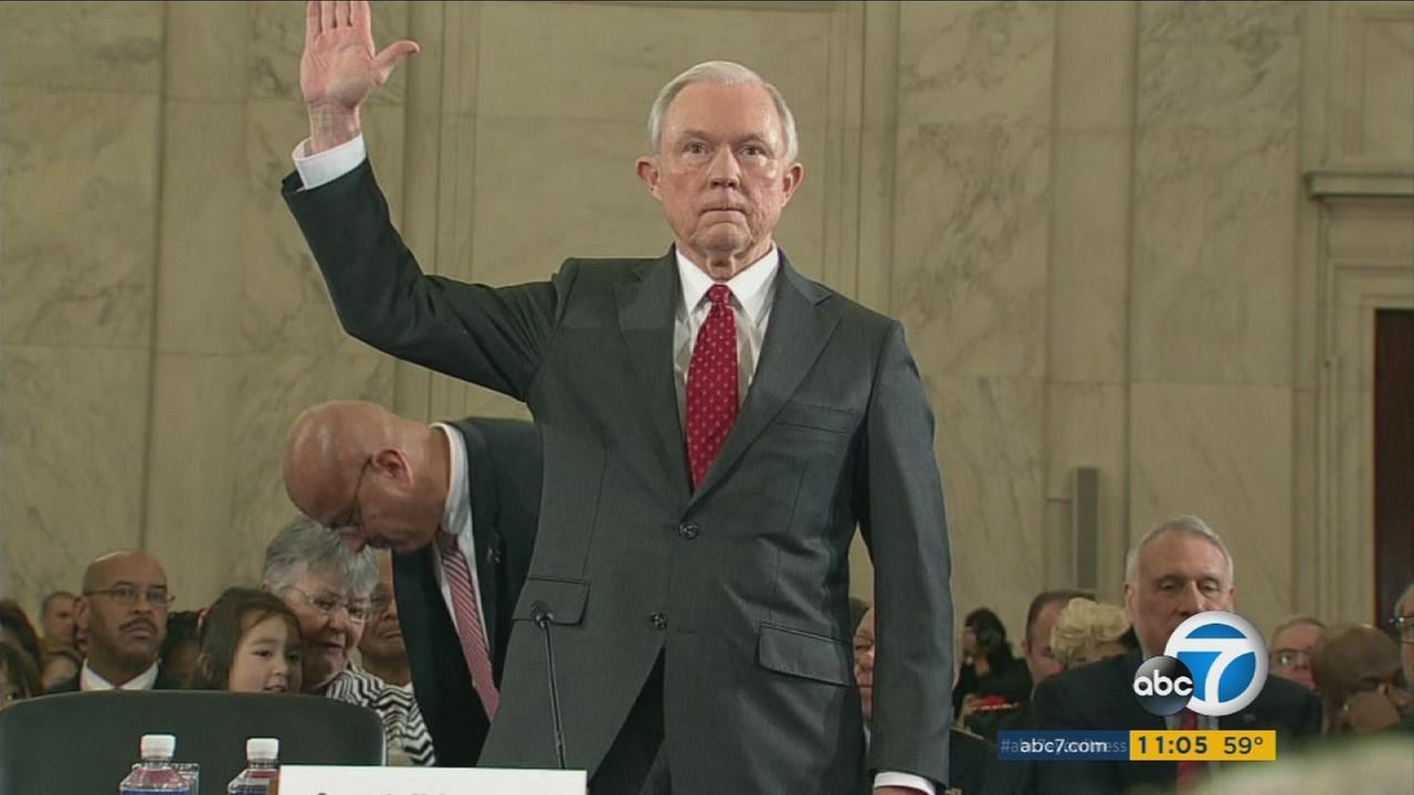 During his confirmation hearing, Attorney General Jeff Sessions did not disclose two conversations he had with the Russian ambassador to the U.S. in 2016.