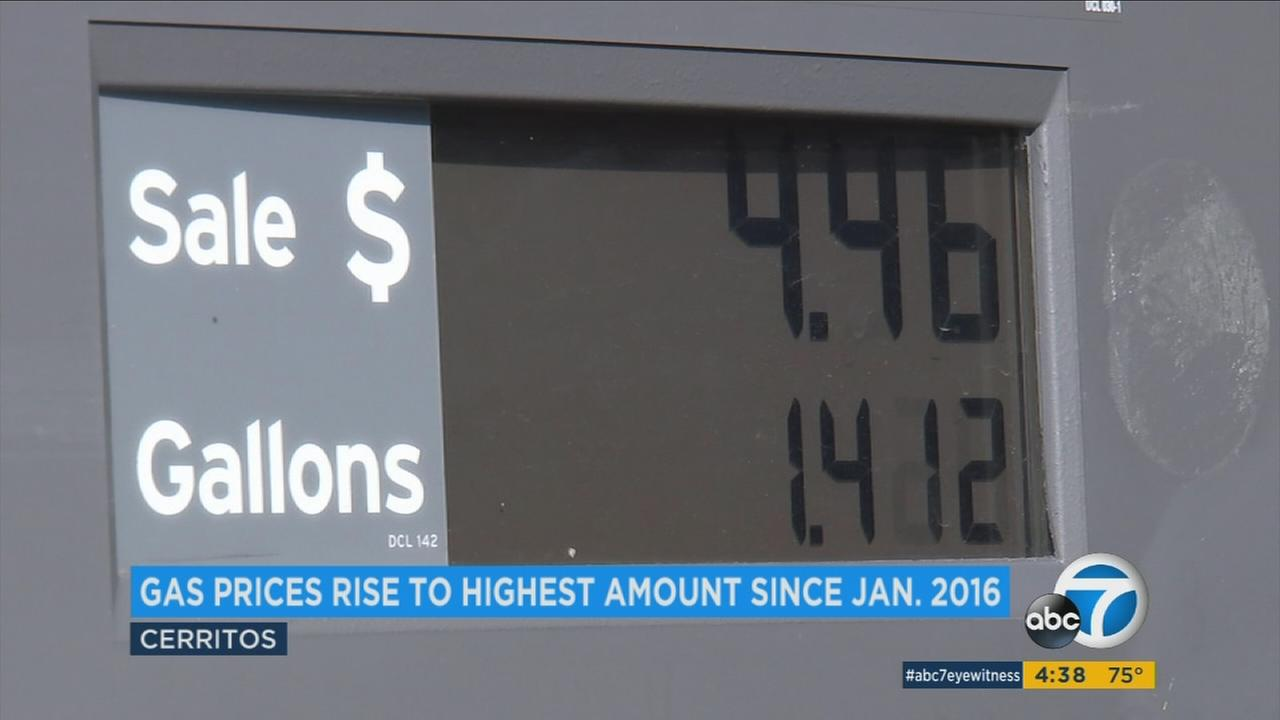 Gas prices are expected to continue to rise due to the transition from winter to the more costly summer blends.