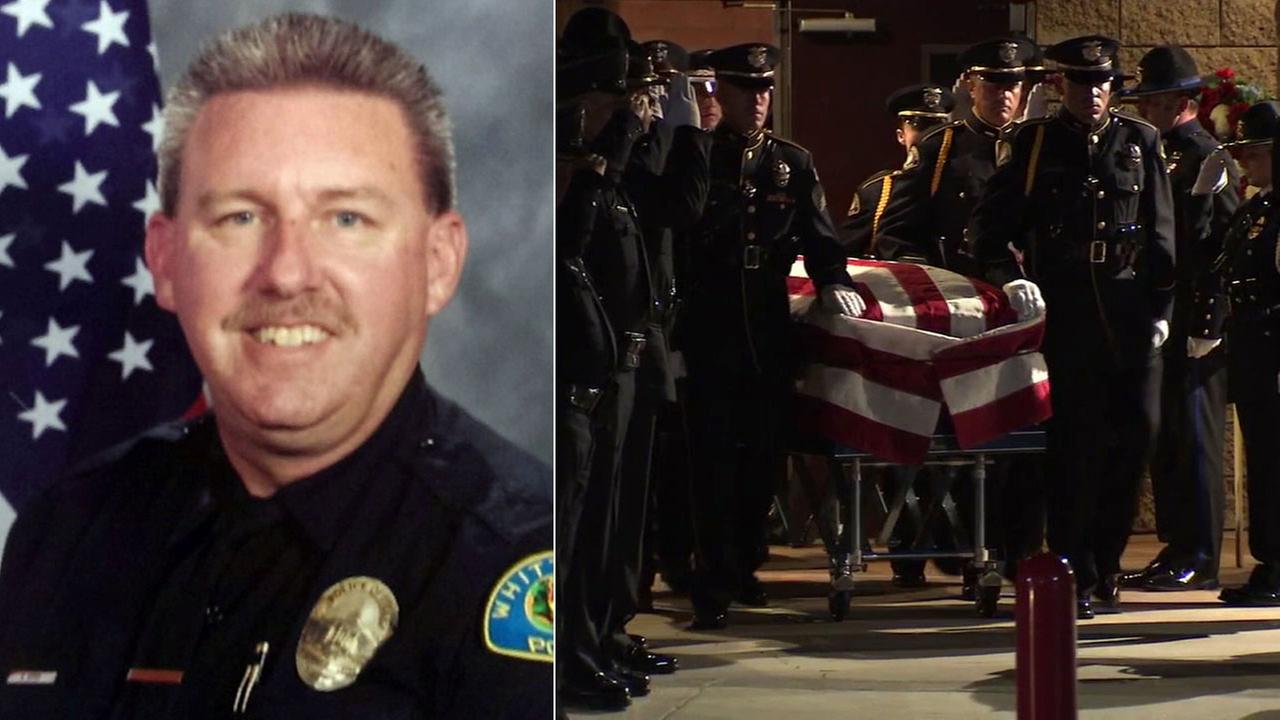 Slain Whittier Officer Keith Boyer to be honored during funeral