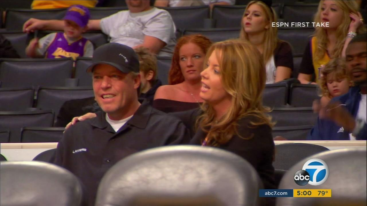 Buss family feud brewing over control of Lakers