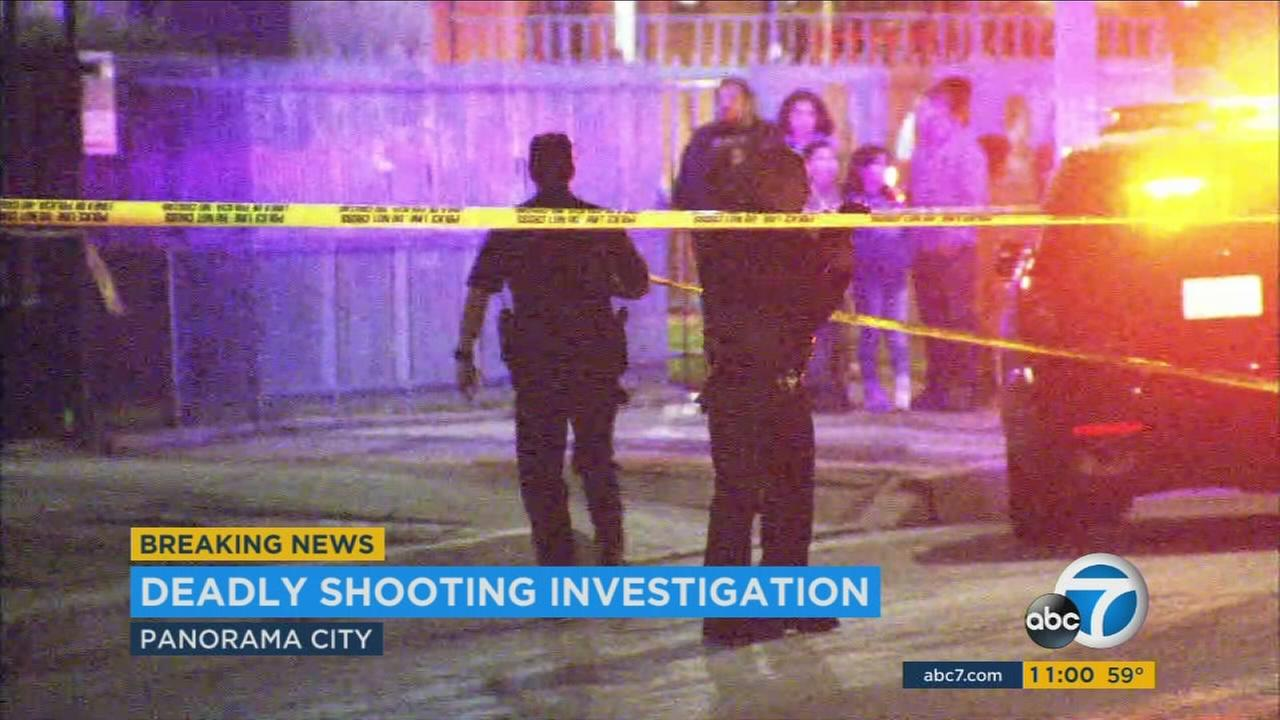Man in 20s killed in Panorama City shooting