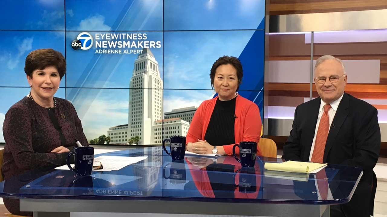 Supporters and opponents of Measure S, a building moratorium initiative, made their voices heard on Eyewitness Newsmakers.