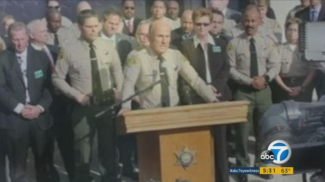 Former Sheriff Lee Baca is seen in an undated photo.