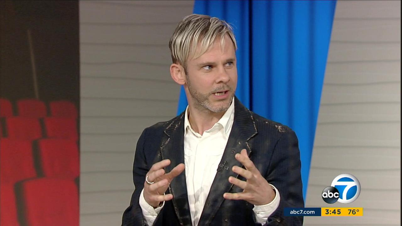 Dominic Monaghan discusses his upcoming film Atomica with ABC7s Entertainment Guru George Pennacchio.