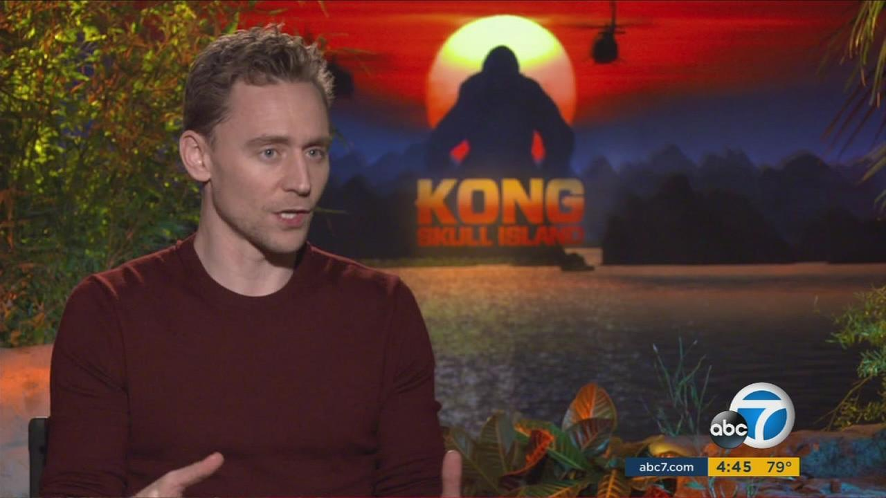 Actor Tom Hiddleston shared director Jordan Vogt-Roberts vision in Warner Bros. latest blockbuster, Kong: Skull Island.