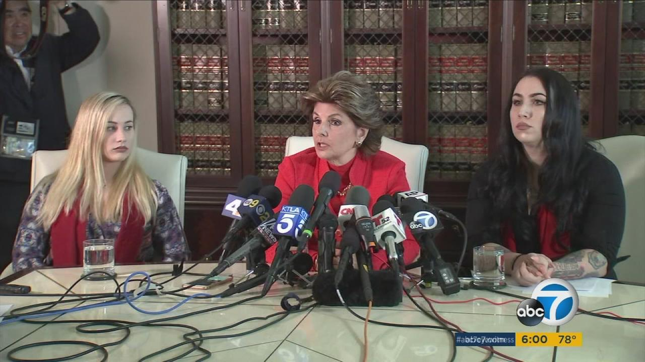Nude photographs of female Marines were shared on the Facebook page Marines United, womens rights attorney Gloria Allred said.