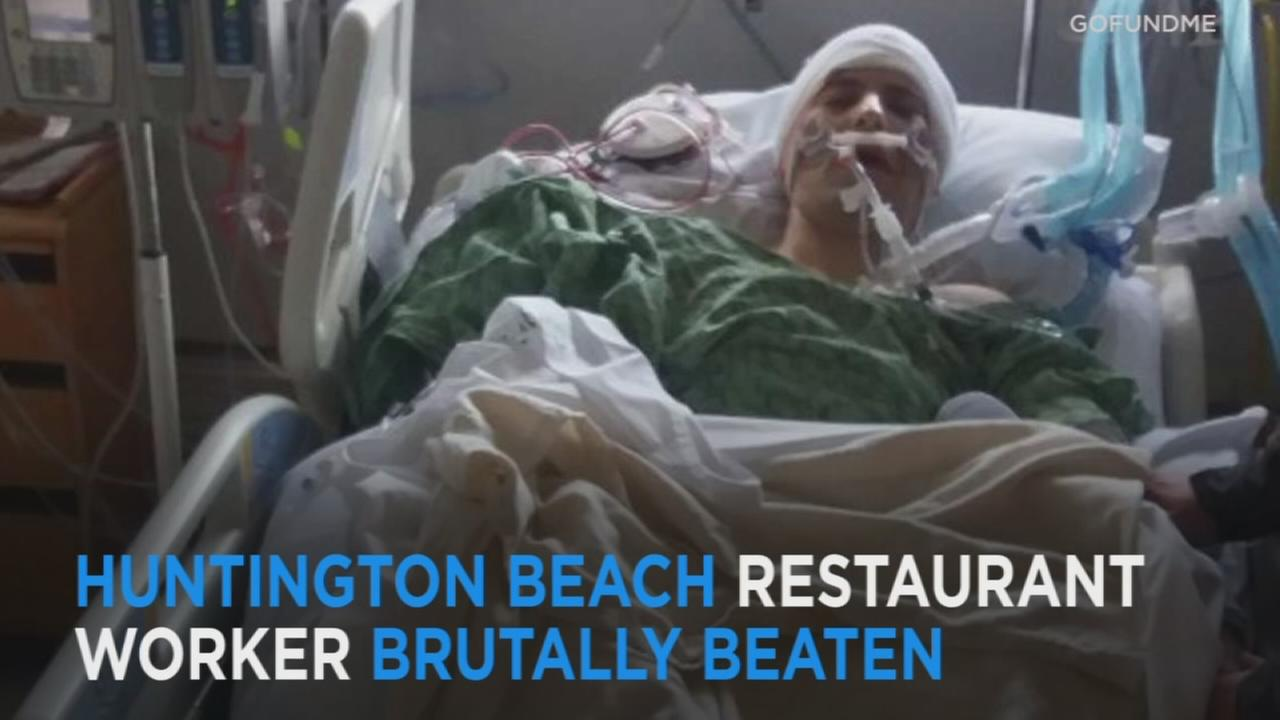 Huntington Beach pizza parlor employee beaten