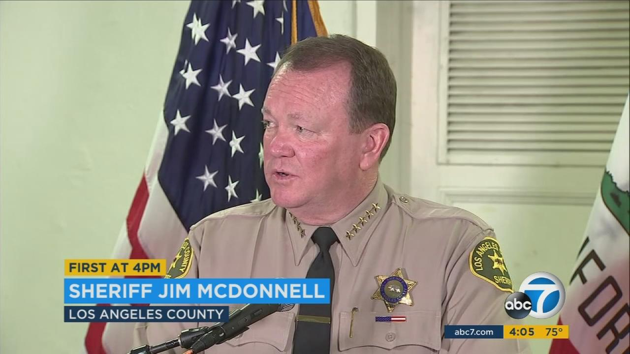 Los Angeles County Sheriff Jim McDonnell wrote a letter expressing his concern about the proposed sanctuary state bill.