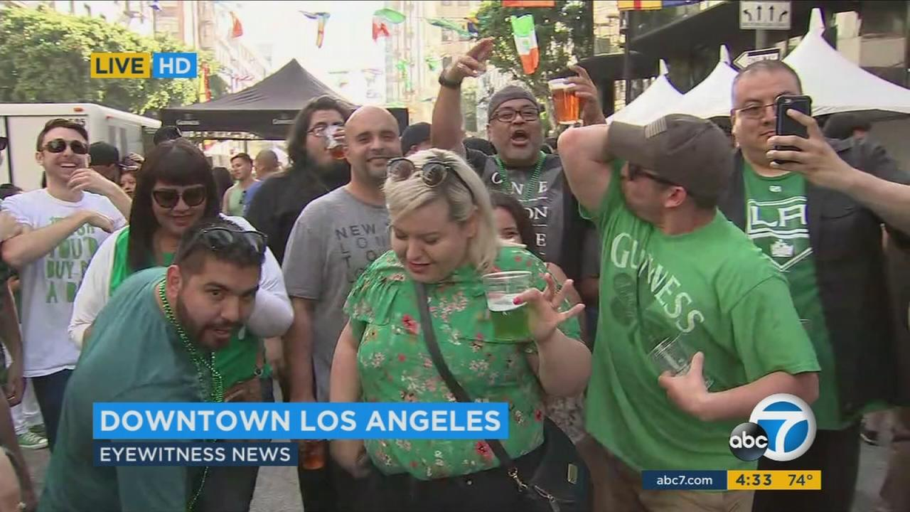 LAPD increases DUI enforcement over St. Patrick's Day weekend