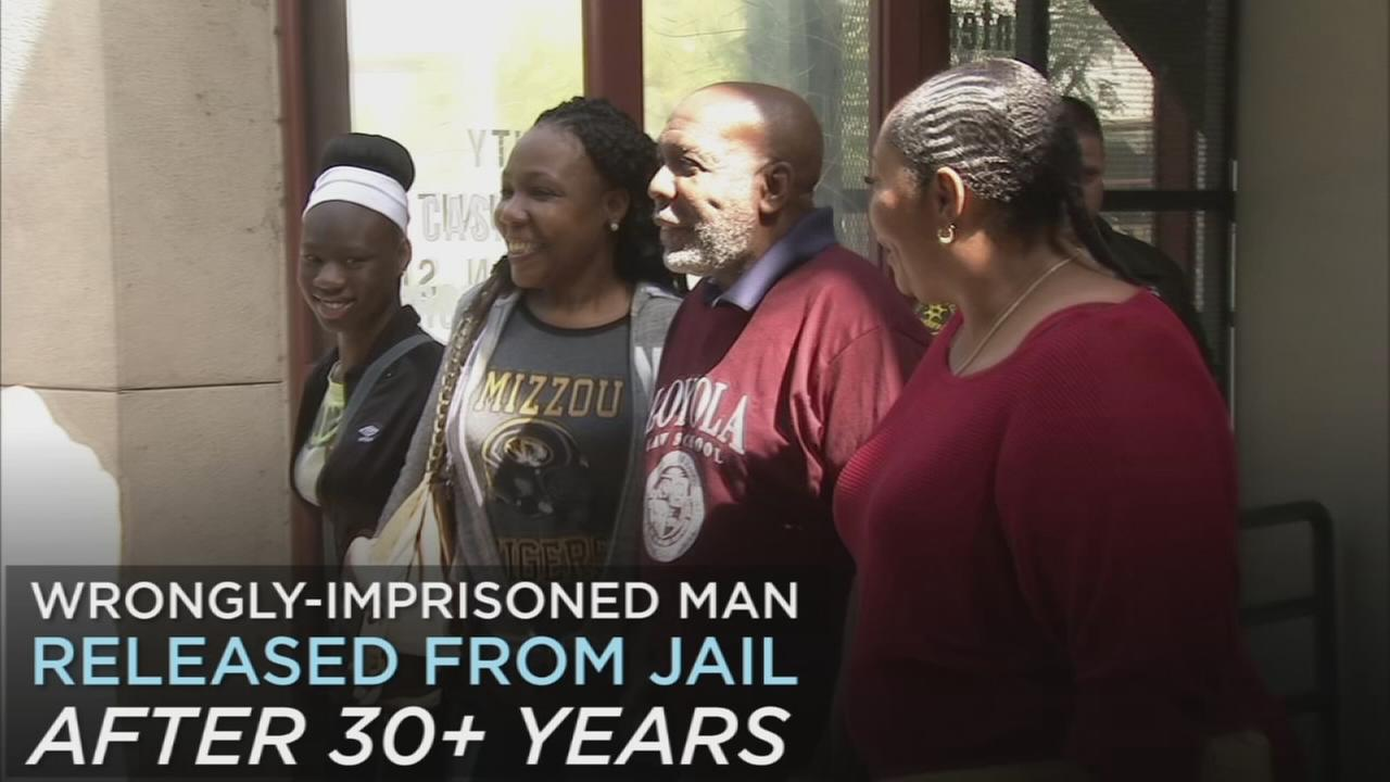 Wrongly imprisoned for murder in 1984, Andrew Wilson urges those in similar situations to continue fighting.