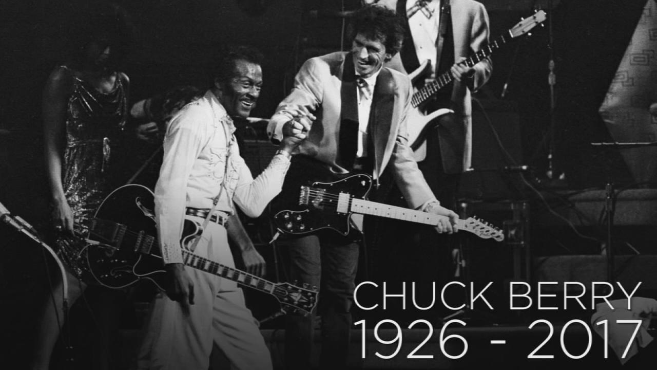 Legendary musician Chuck Berry died at the age of 90 on Saturday, March 18, 2017.