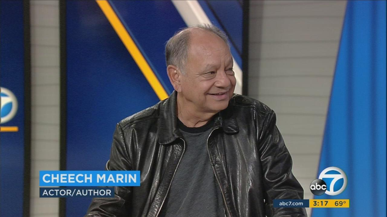 Comedian Cheech Marin is promoting a new memoir called Cheech Is Not My Real Name But Dont Call Me Chong.