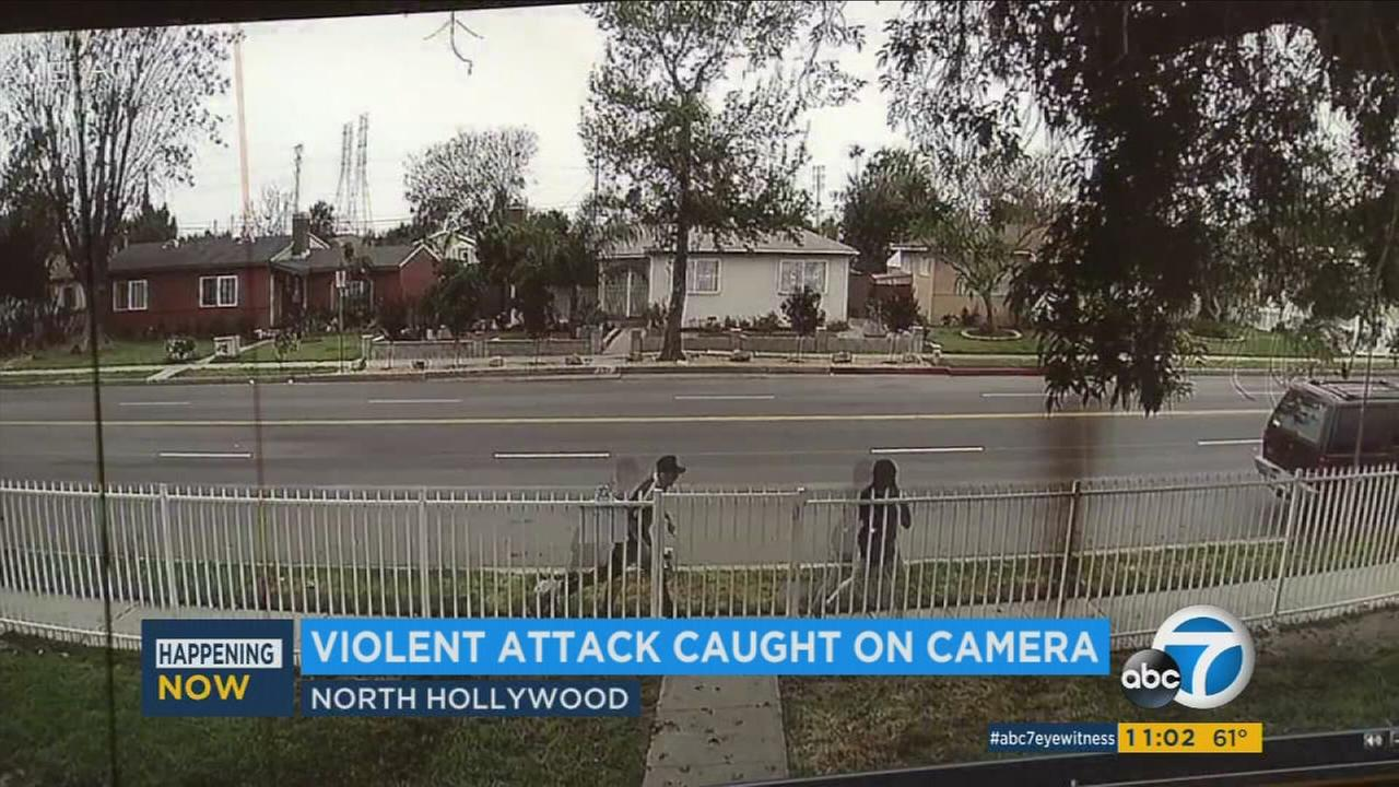 Teen assaulted while walking to school in North Hollywood