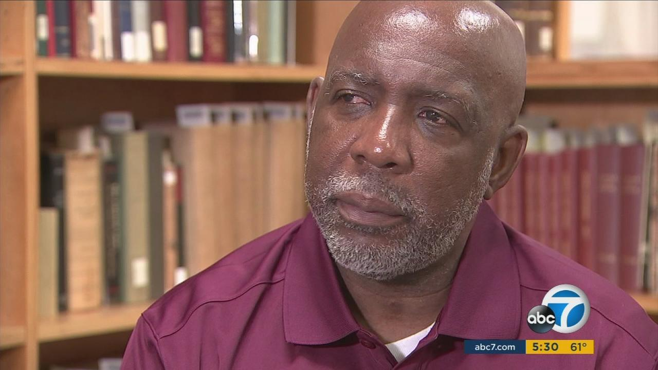 Andrew Wilson was freed from prison after 32 years with help from students at Loyola Law School.