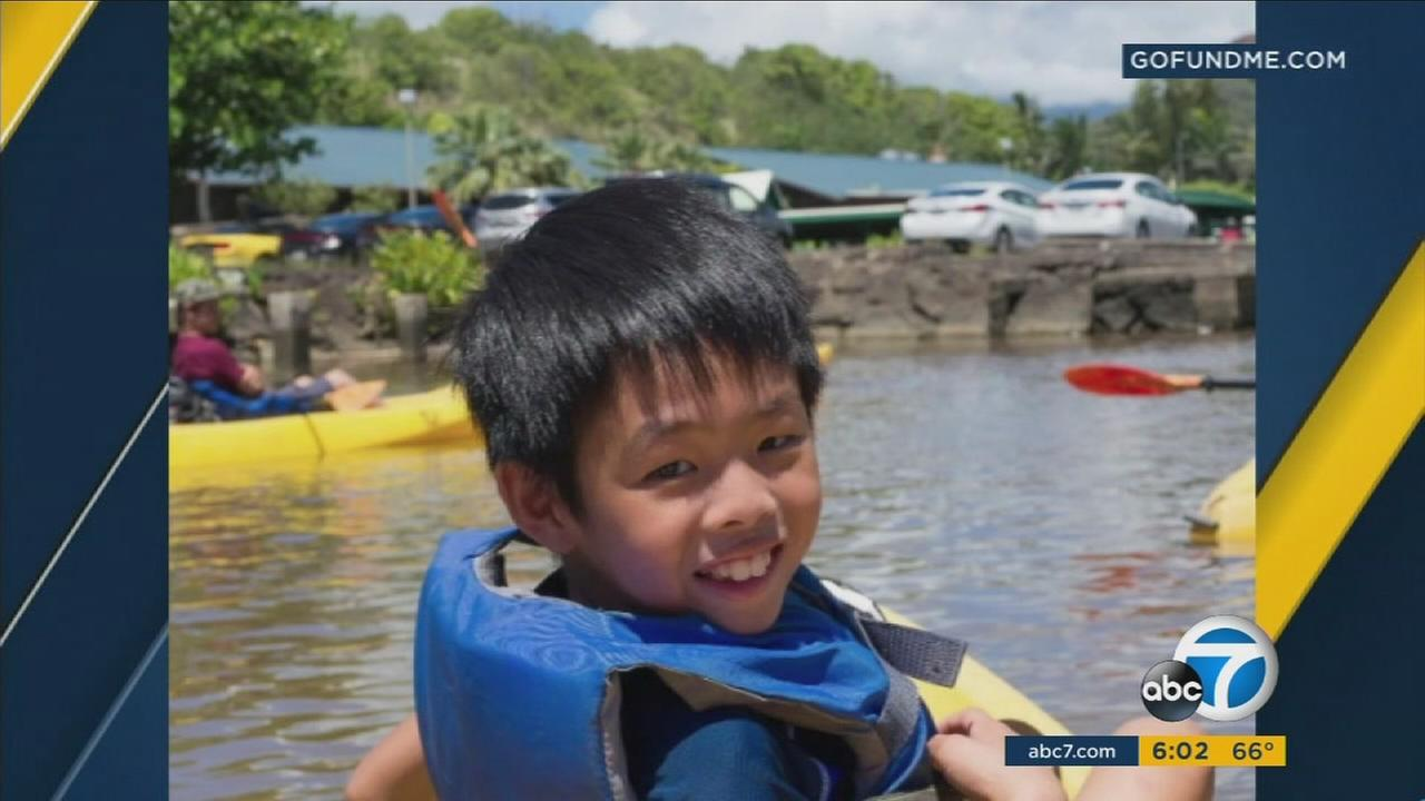 Jonah Hwang, 8, is shown in an undated photo.
