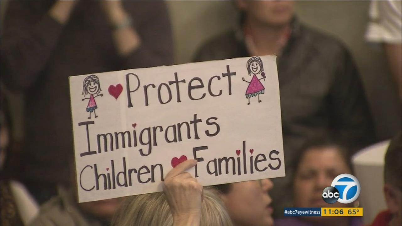 The Pasadena City Council approved a resolution Monday calling for the city to strengthen its protections for immigrants.