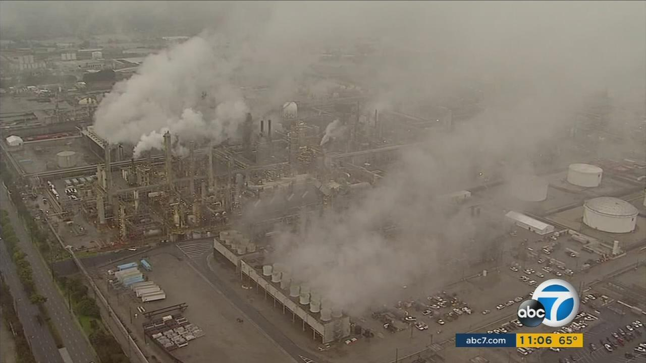 A heated city council meeting looked at the issue of whether to ban a dangerous chemical in use at the Torrance Refinery.