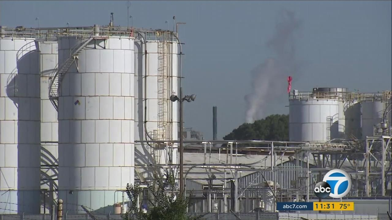 Lawmakers have voted against a resolution to phase out the use of a chemical at the Torrance Refinery.