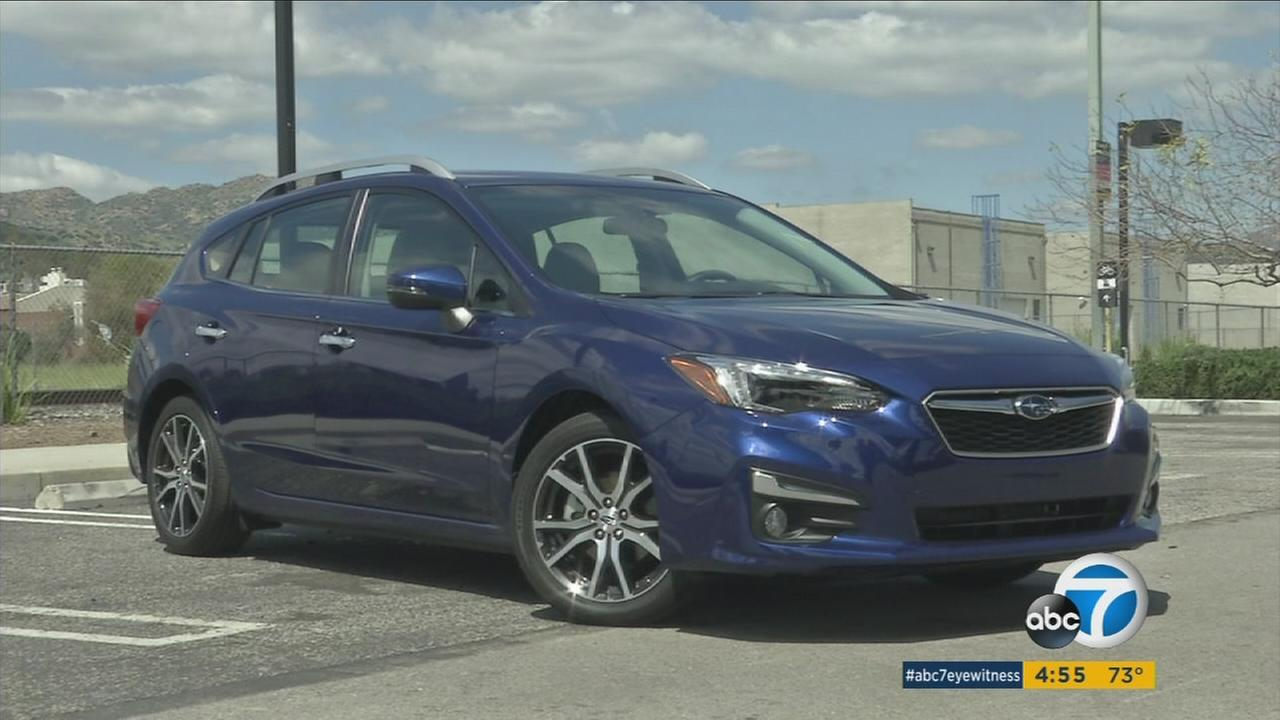 An undated photo of of the 2017 Subaru Impreza.