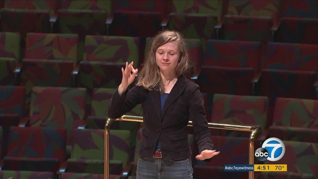 The Lithuanian-born Mirga Grazinyte-Tyla is serving as associate conductor for the Los Angeles Philharmonic this season, bringing to the stage a deeply held love for music.
