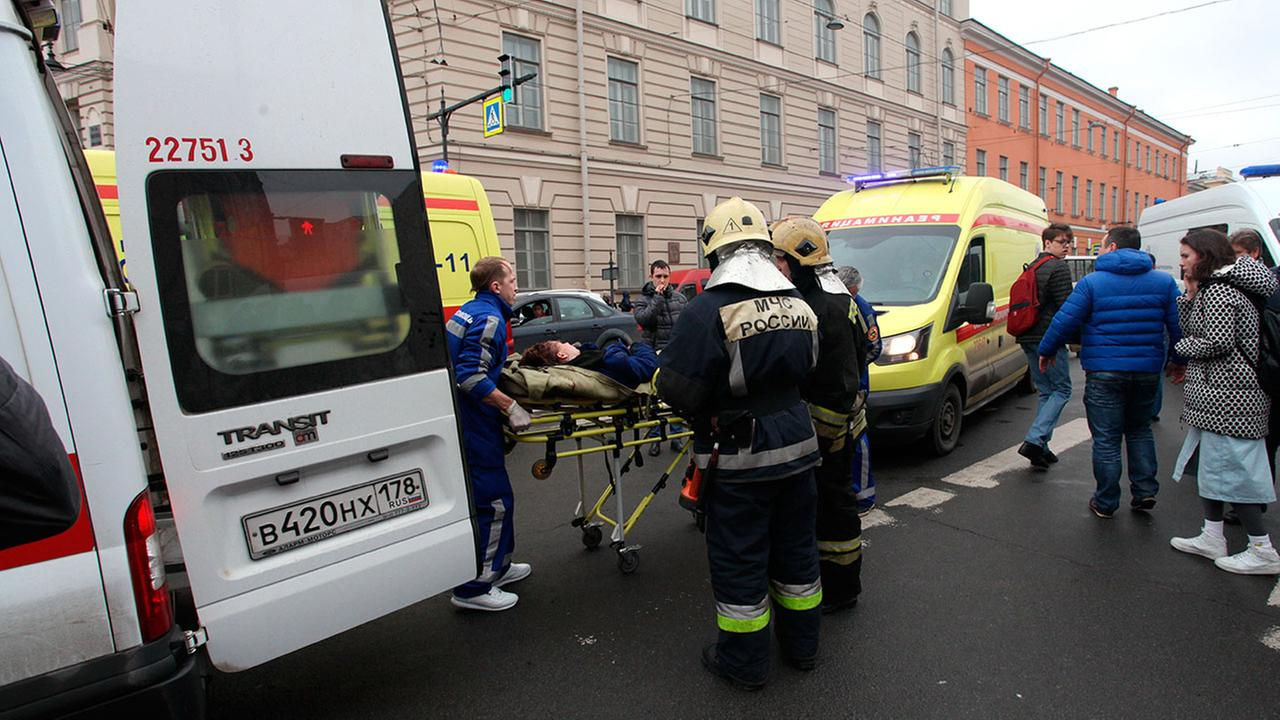 At least 9 dead, 50 injured in Russia subway explosion
