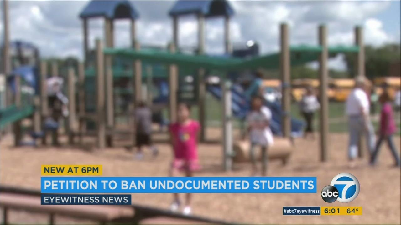In California, public education is a right afforded to all children from kindergarten through 12th grade, but an anti-immigration activist is looking to strip undocumented childrens access to public schools.