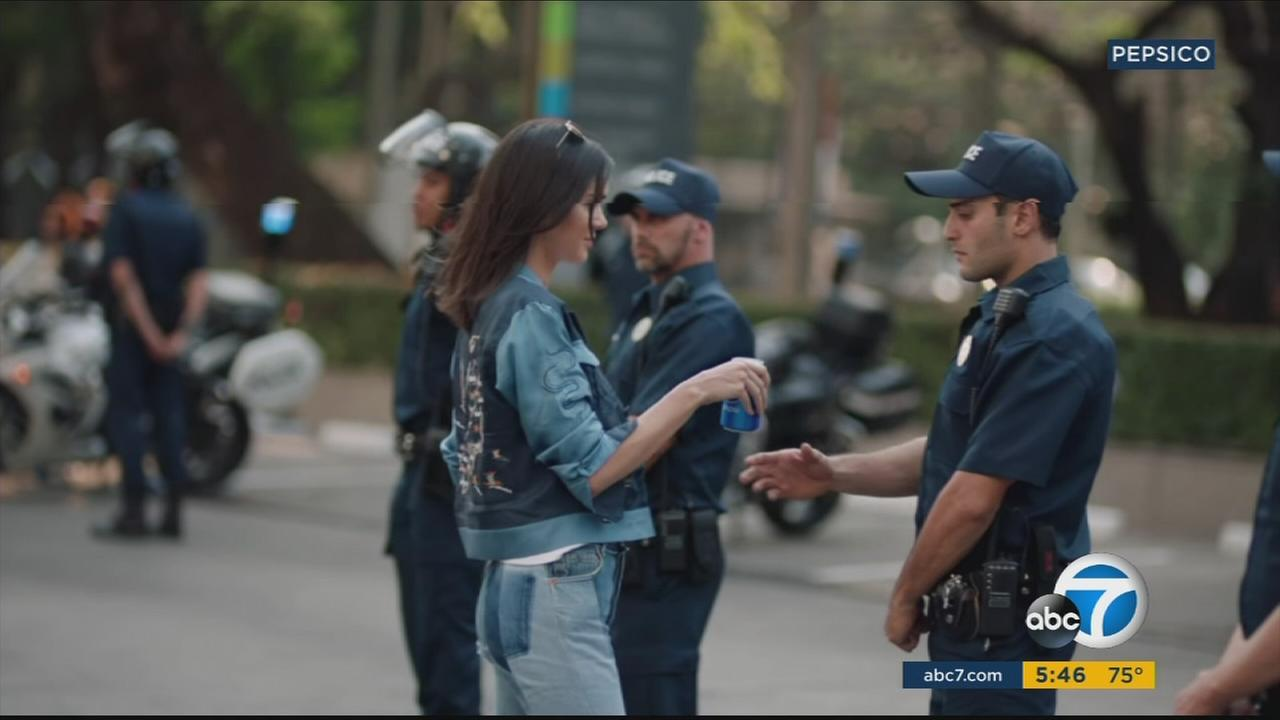 Pepsi has pulled this ad featuring Kendall Jenner after criticism that it appeared to trivialize social justice protests.
