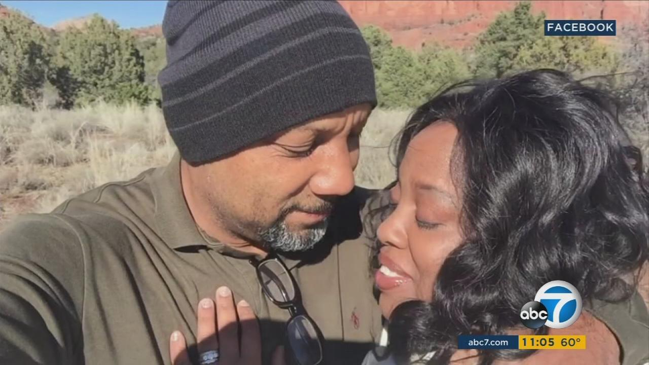 The Riverside man who shot his wife and himself at a San Bernardino school had shown a darker side to his personality shortly after they were married in January, according to family members.