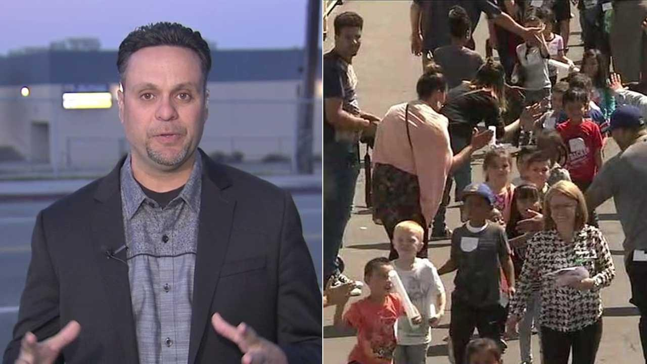 San Bernardino pastor rallies community after school shooting