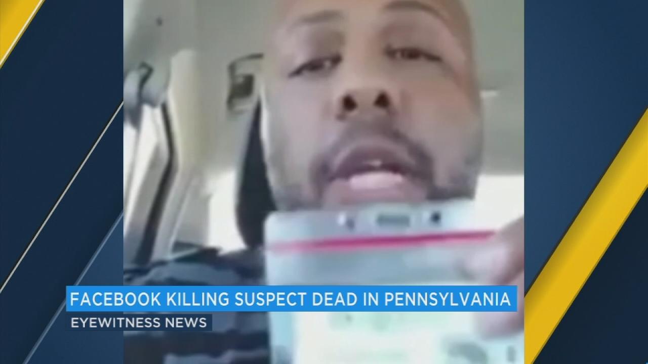 'Facebook killer' Steve Stephens shoots himself to death