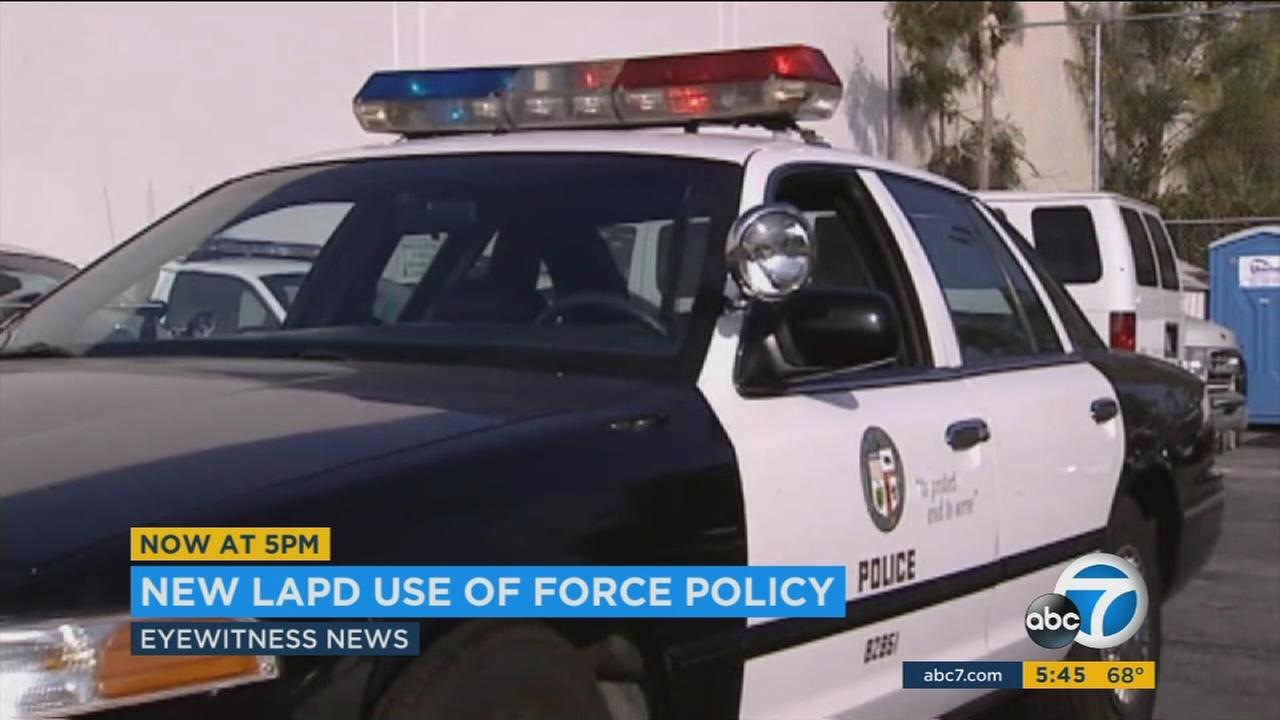 A new policy will now require Los Angeles Police Department officers to try to defuse a tense encounter by using time, communication and distance before resorting to their guns.