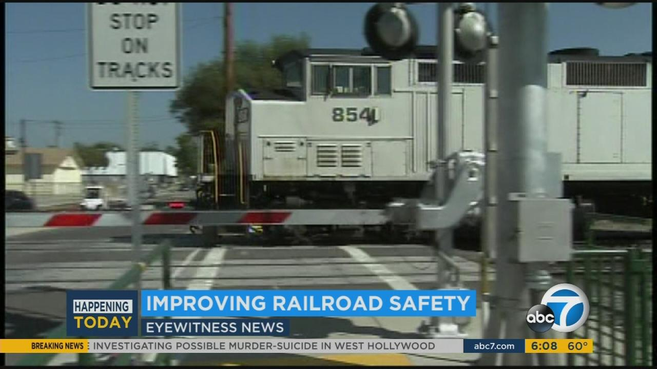 Officers push for drivers, pedestrians to be safe at railroad crossings