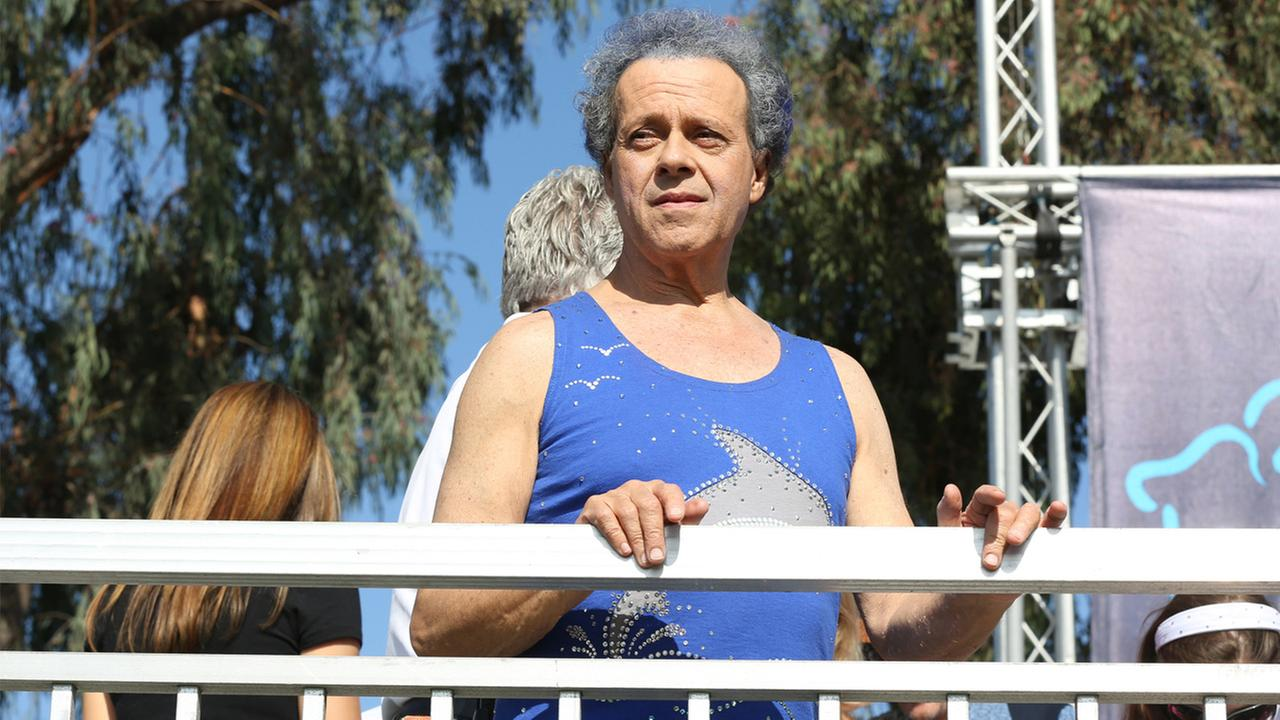 Richard Simmons onstage at JDRFs Los Angeles Walk to Cure Diabetes at the Rose Bowl on Sunday, Oct. 27, 2013 in Pasadena, California.