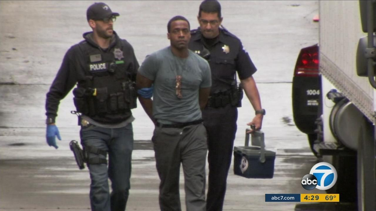 Fresno shooting rampage suspect enters court shouting