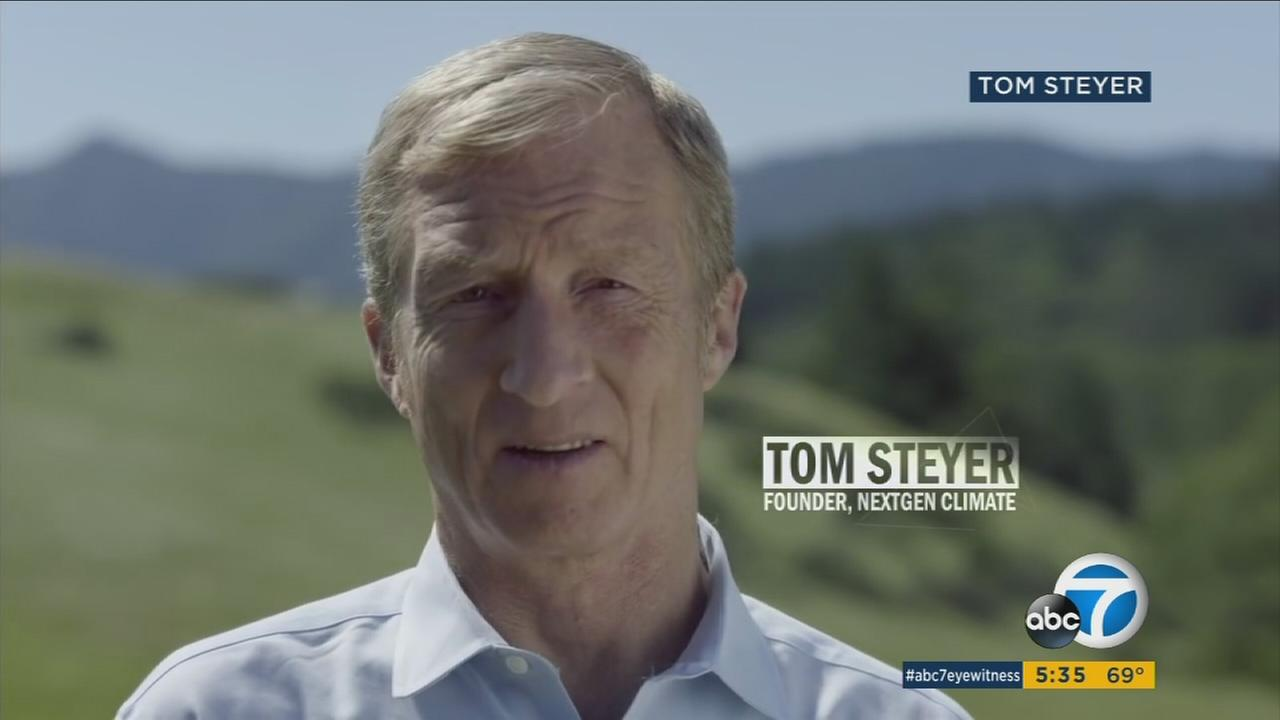 Billionaire, activist Tom Steyer urges participation in LA's March for Science