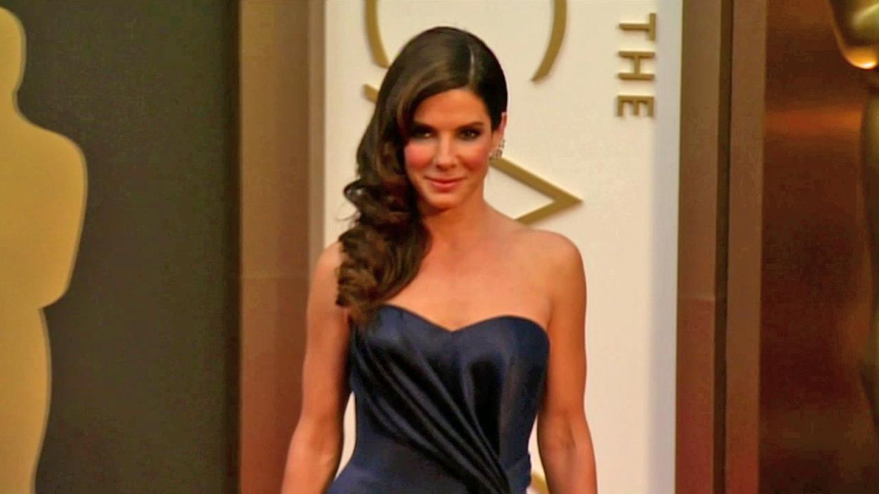 Actress Sandra Bullock is seen in this undated file photo.