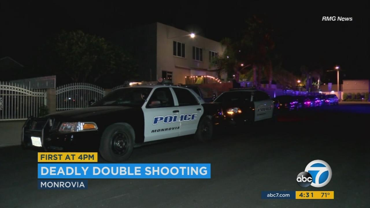 A shooting investigation was underway in Monrovia Sunday after the gunfire left one man dead and one juvenile injured.