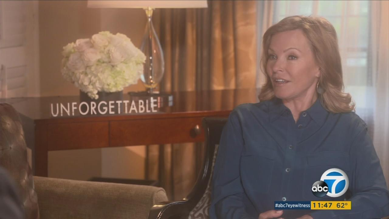 Actress Cheryl Ladd discusses her latest movie, Unforgettable.