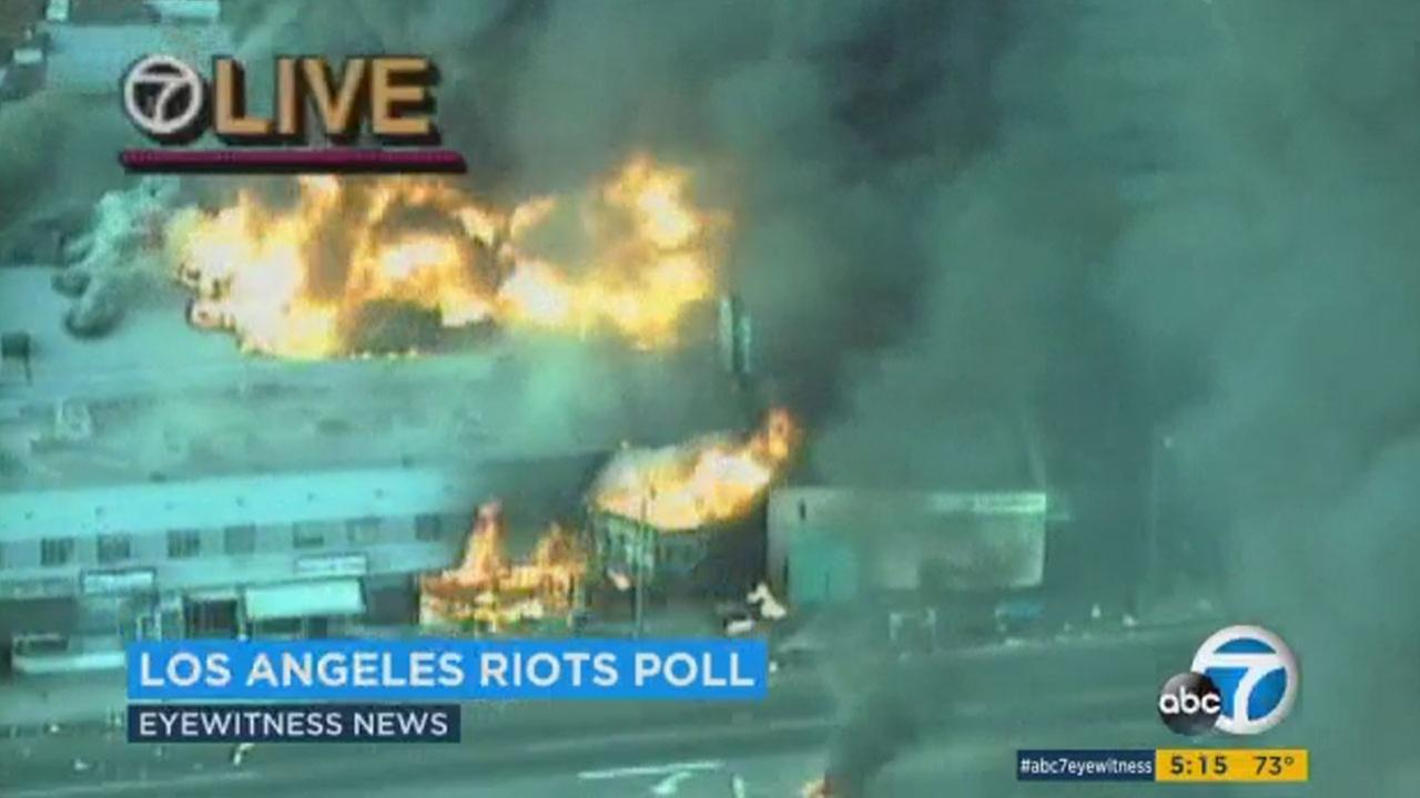 Twenty-five years on from the 1992 LA riots, a new poll conducted by Loyola Marymount University paints an uncertain portrait of Los Angeles current state, finding that the majority of people asked think more riots are in the near future.