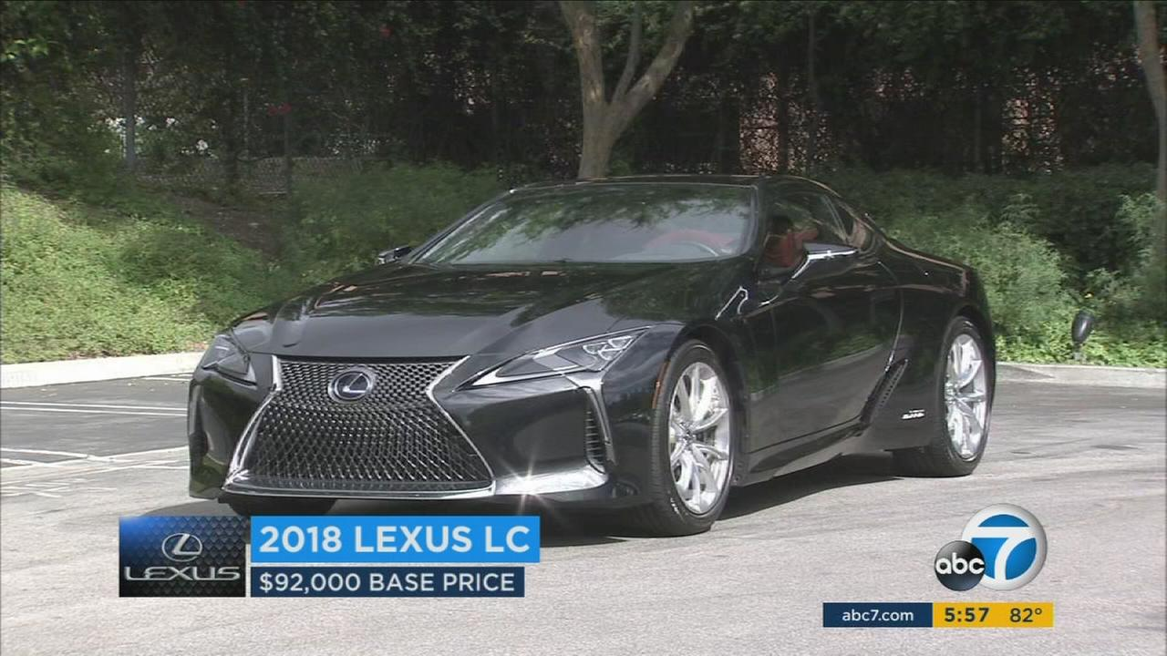 The 2018 Lexus LC500 has become the car manufacturers attempt to reestablish itself as an upscale brand with style.