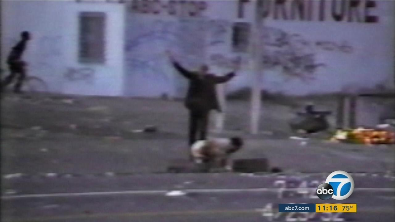 Fidel Lopez, beaten by angry rioters during the 1992 Los Angeles riots, was laying on deaths doorstep until a pastor put his life on the line to save him.