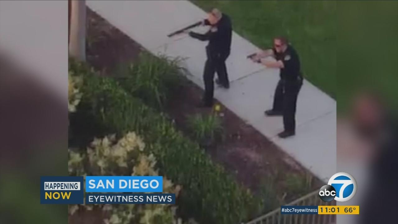 Video shows San Diego gunman during deadly shooting spree