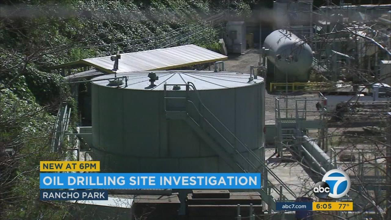 City officials are looking into an oil drilling site near the Rancho Park Golf Course that had equipment installed without the proper city permits.