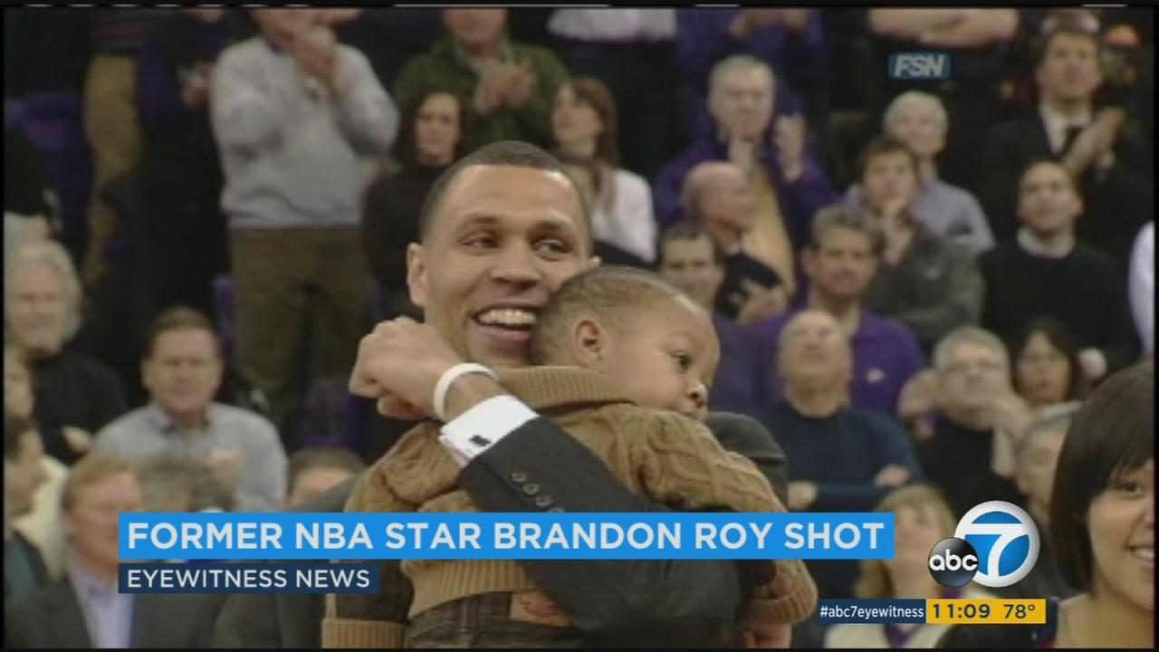 Former Portland Trail Blazer Brandon Roy is seen in an undated file photo.