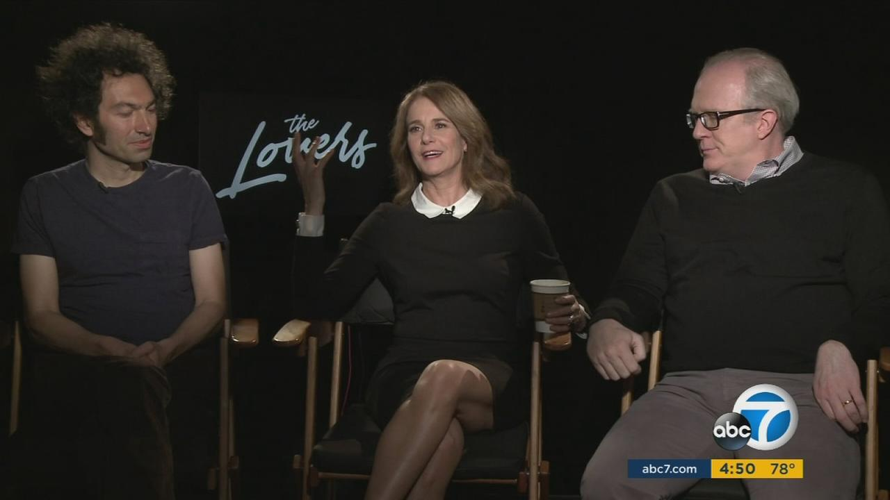 Stars of the movie The Lovers discuss the making of the film.