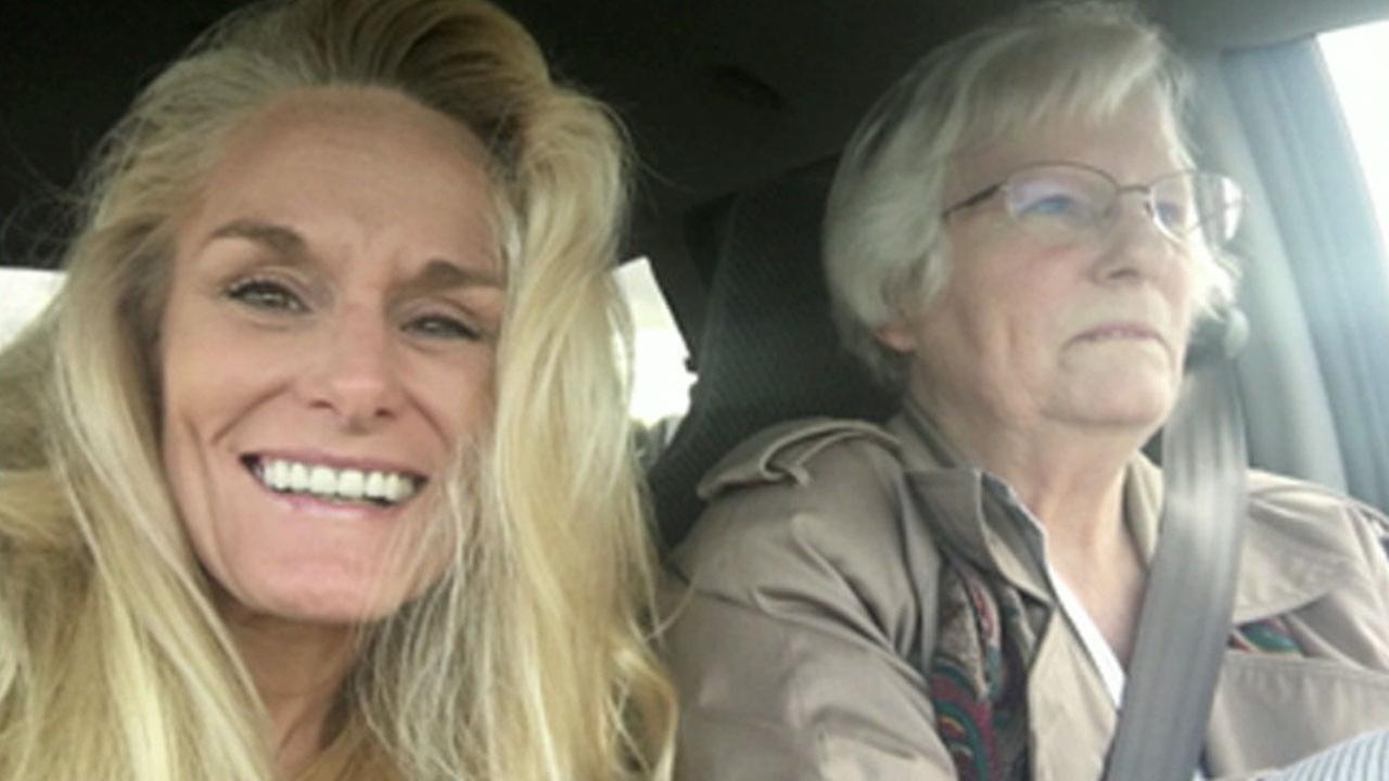 Barbara Scheuer-Souzer, 48, is shown alongside her mother Eleanor Watson in an undated photo.
