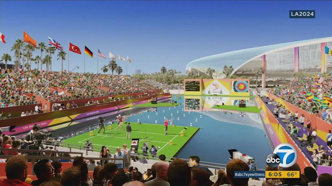Ahead of a site visit by the International Olympic Committees Evaluation Commission this week, LA 2024 released design renderings for proposed venues to house the Olympic and Paralympic Games.