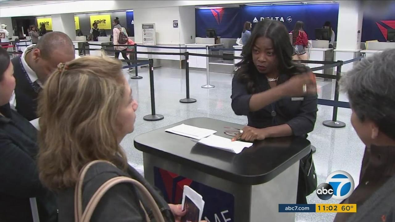Delta is staffing extra employees to help direct passengers to the correct location as the airline switches terminals at LAX.