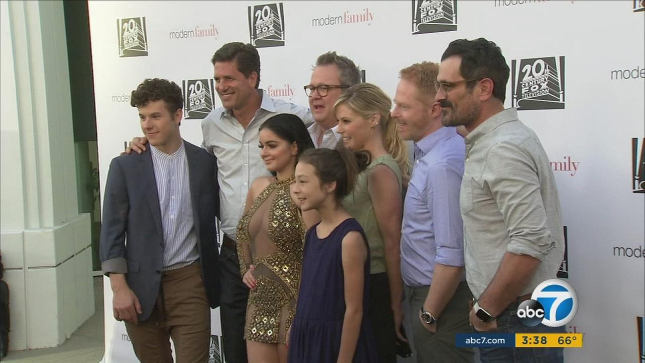 Members of the Modern Family cast appreciate their good fortune and are proud of their eight years of success and laughter