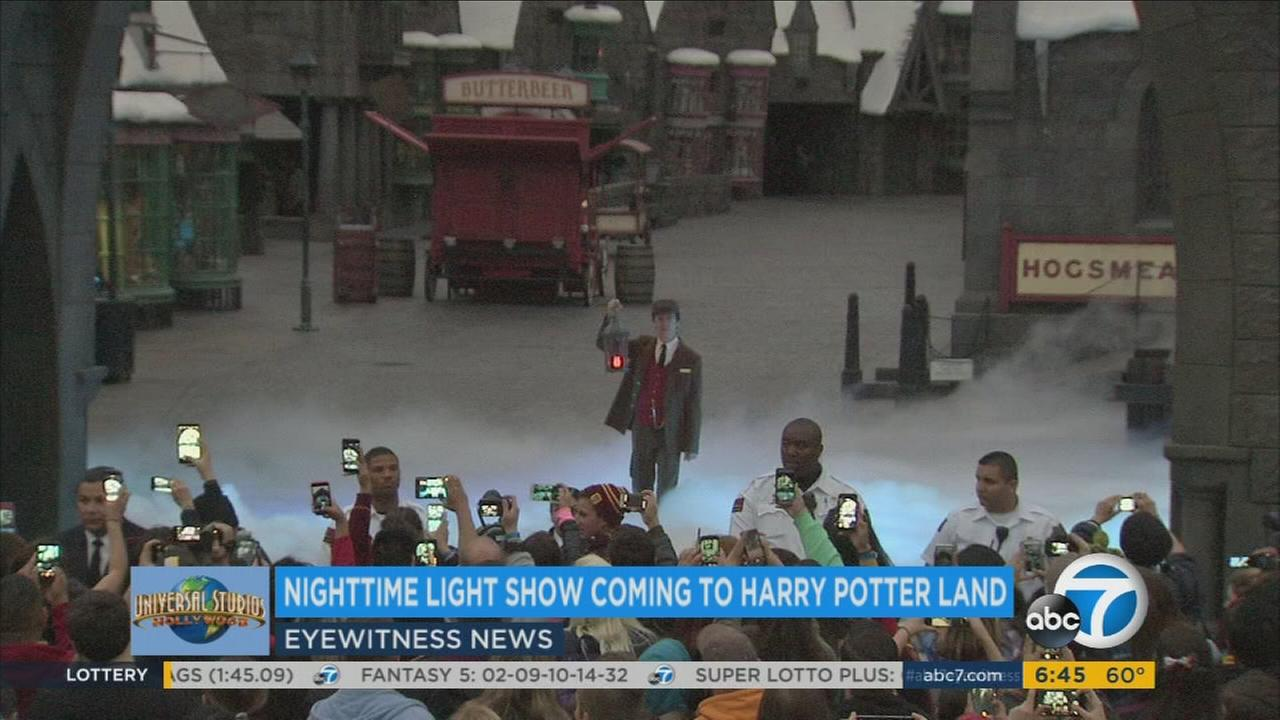 A Harry Potter-themed live show is seen in an undated file photo.